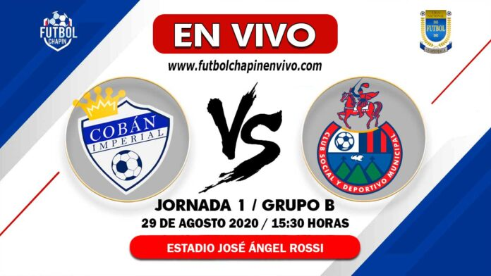 Cobán Imperial vs Municipal en vivo